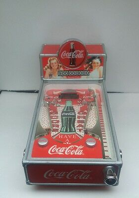 miniture coca cola pinball machine coin bank