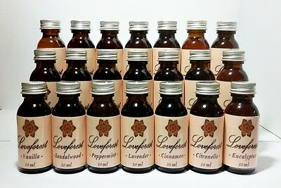 Natural Pure Essential Oils 30ml Therapeutic Grade Aromatherapy Free Shipping