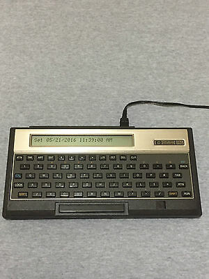 HP-75C Computer Calculator + AC Adapter