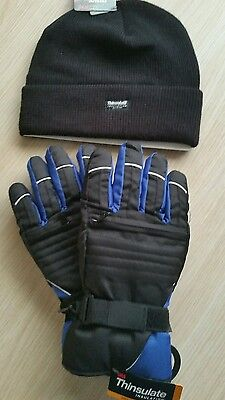 New Thinsulate Hat and Gloves.