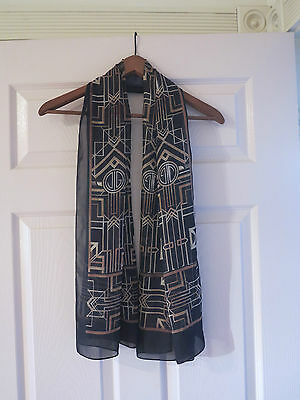 Great Gatsby Movie Memorbilia Merchandise Scarf