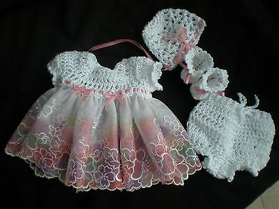 Pretty Outfit For 10 Inch Mini Reborn Or Other Dolls Of Similar Size