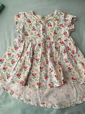 Next Dress/tunic 3-6months Floral Summer Girls Baby