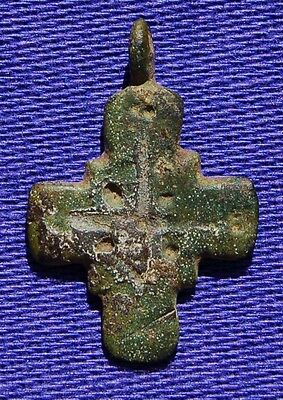 Medieval Pilgrims Cross - Circa 1300 - 1400 AD - Detecting Find