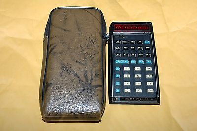 Hewlett Packard HP-35 Handheld Scientific Calculator Vintage