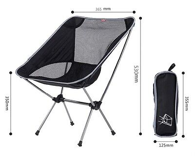 Ultra Light Fishing Chair Outdoor Camping Portable Seat For Beach Picnic Hiking