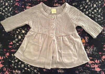 Pumpkin Patch Girls Half Length Sleeve Cardigan Size 8