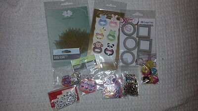 Mixed Lot 1 - Embellishments & Stickers ***AS NEW***