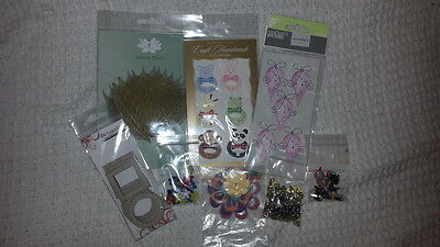 Mixed Lot 2 - Embellishments & Stickers ***AS NEW***