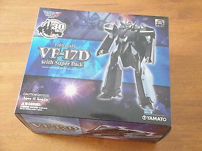 YAMATO ROBOTECH MACROSS 7 30th Anniversary VF-17D + SUPER PACK NUOVO, SCONTO 20%