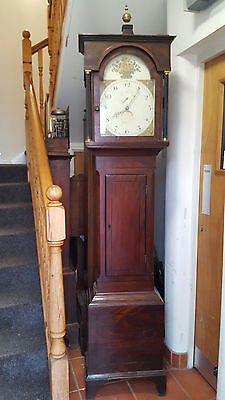 19th Century Oak Grandfather Clock. Delivery Arranged • £395.00