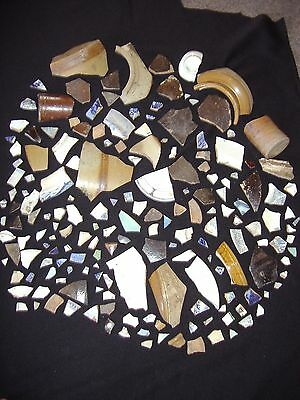 1850s to 1930 Shards / Chards dug in the Victorian Goldfields, just on 3kg