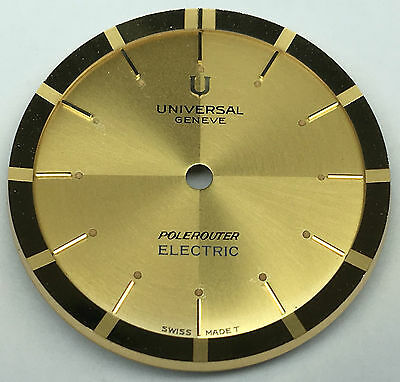 Universal Genève Polerouter Electric New Old Stock ca. 1960