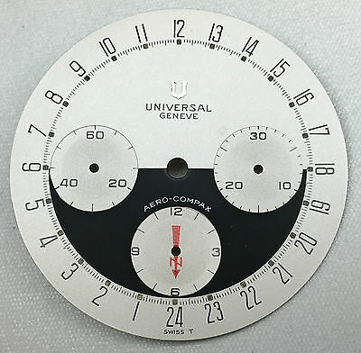 Universal Genève Aero-Compax Day & Night Dial New Old Stock ca. 1970