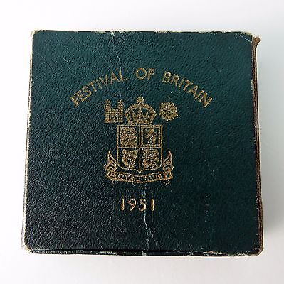 1951 George VI Festival of Britain commemorative coin, George and Dragon boxed