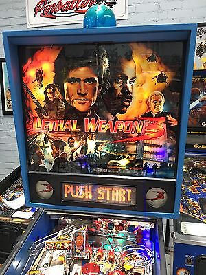 Lethal Weapon 3 Pinball Machine By Data East With LED's