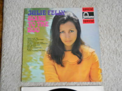 1969 ,Julie Felix/Going To The Zoo/Folk vinyl LP