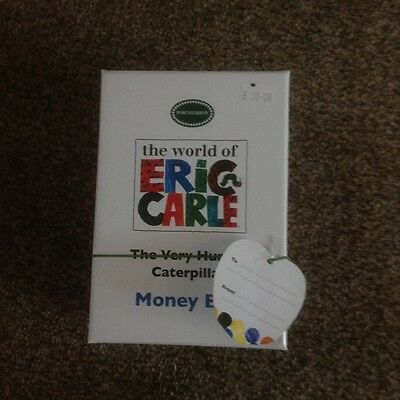 Portmeirion 'the Very Hungry Caterpillar' Silver Plated Money Box