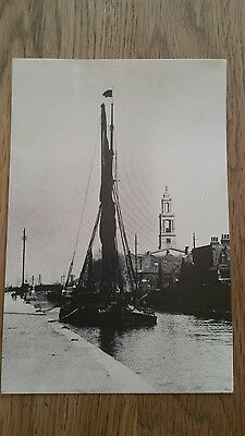 Shipping Postcard -  Surrey Canal -near St George's
