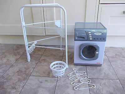 Casdon Toy Electronic Washing Machine Washer and Accessories