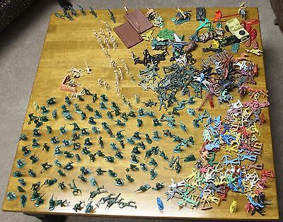 Entire Collection 🔥 Green Army Men, Cowboys, Indians,+ more, approx. 350 Pcs.