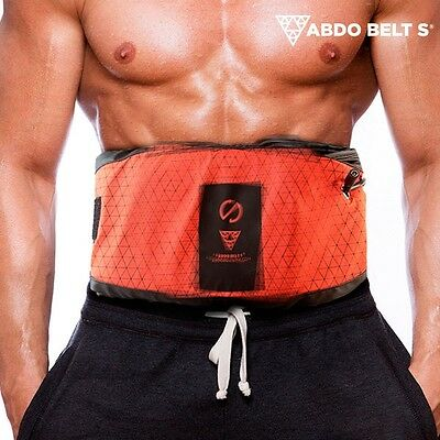 Abdo Belt S Vibrating Toning Belt With Sauna Fat Burner Effect, Abs Abdominal