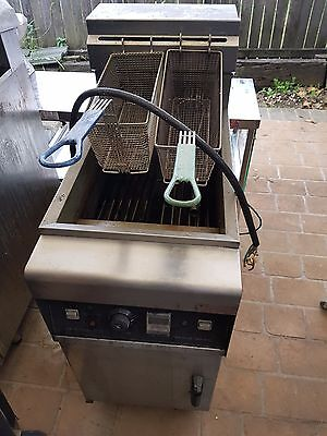 Commercial Electrical Fryer EF-28L Double Basket