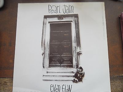 "Pearl Jam even flow 12"" white vinyl"