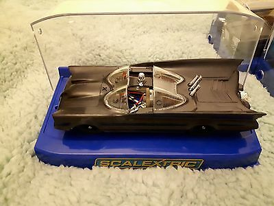 Scalextric compatible 1:32 scale batmobile needing finishing in box