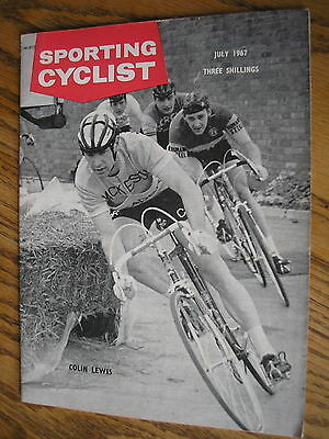 sporting cyclist magazine july 1967, 50th birthday gift, tom simpson, merckx