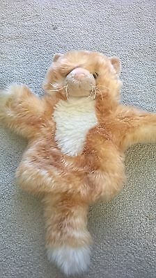 Carpet cat (ginger) from The Puppet Company