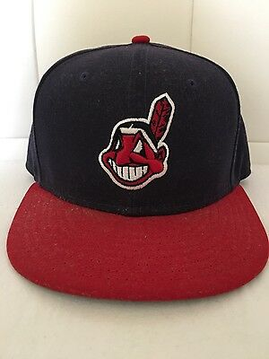 Cleveland Indians Authentic 59FIFTY Fitted MLB Cap Home