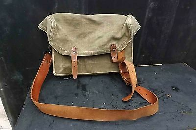 2ww dated 1941 British army map carrying holdall