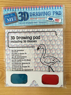3D Drawing Pad and 3D Glasses