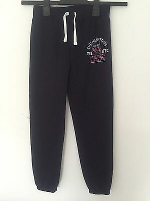 Girls Navy Joggers