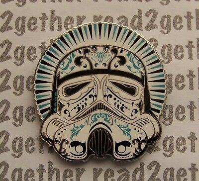 Disney Pin Star Wars Helmet Series Storm Trooper