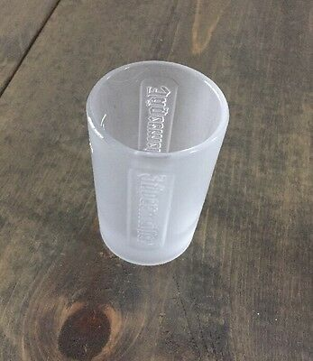 Jagermeister 1 oz. Frosted Embossed Shot Glass