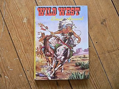 WILD WEST COMIC ANNUAL (1958?) Very Good Condition