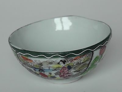 Japanese Painted Tea Bowl