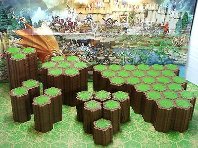 Expand Your Heroscape Battlefield with 392 hexes of Grass Terrain