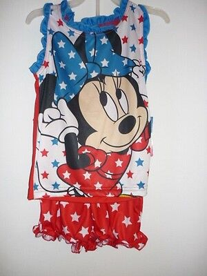 Toddler Girl Minnie Mouse PJ's   Size: 3T    NWT
