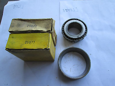 Rear wheel outer bearing & race 1941-64 Chrysler products,1941-50 Studebaker.