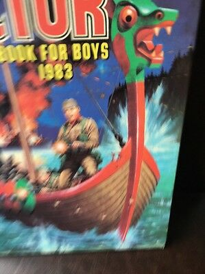 THE VICTOR BOOK for BOYS - Annual - Year 1983 - UK Annual ( Price Tab Intact )
