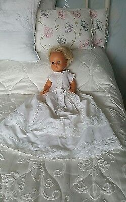 """Lovely Vintage Cotton Dress for 18"""" - 22"""" Doll / Baby"""