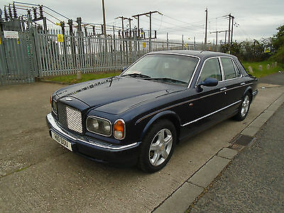 1999 Bentley Arnage  Blue With Cream Leather  With Bmw 4,3 V8