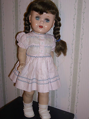 """Vintage Saucy Walker 16"""" Original Clothes & working Cryer....She is a CUTIE PIE!"""