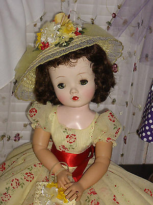 Vintage Madame Alexander Cissy Doll, GORGEOUS Brunette! Custom OOAK outfit! WOW!