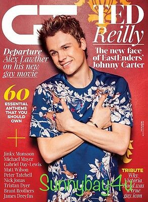 GT - Gay Times Magazine June 2016 TED REILLY - EastEnders' Johnny Carter