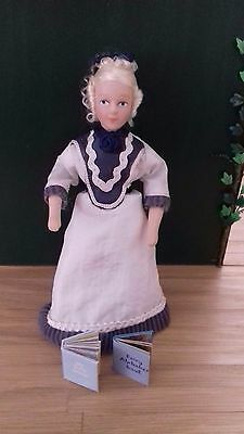 1/12th scale Victorian/Edwardian girl doll