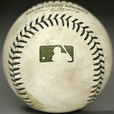 GAME USED Rawlings MEMORIAL DAY Baseball Official MLB Ball 100% AUTHENTIC